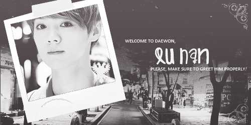 daewondistrict:  ➧ STUDENT LU HAN — Twenty — Senior — DORM: B-18 ;; ASPIRING PEDIATRICIAN !  Background / Personality :  There's always just been something about life that makes him smile. Whether it's a small thing like the sun shining or even a dismal, dreary day, Lu Han has always been a little ray of sunshine. But the sweet, friendly boy is really rather shy on the inside. Although he makes friends easily and doesn't have a difficult time getting to know new people, he has a very difficult time completely trusting people. It's not that he doesn't want to, no. It's just that somehow, somehow, it just doesn't work out. He doesn't exactly understand why, honestly. It's as though there's a barrier there, an invisible one that neither of them can get past, and sometimes it hurts. But he always tries his best. He is constantly told how he doesn't look his age. And perhaps it's true. He certainly doesn't look like he's twenty and a senior. In fact, he is commonly mistaken for a freshman or a sophomore, and he's pretty much used to it.  What else? Well, he moved to Korea as an international student. He told his parents that it was something he had always wanted to do, and that the job opportunities in Korea were better than in China, and it was true, to some degree. The truth was, Lu Han just wanted to explore. He wanted to go everywhere he could, and Korea was appealing to him. Money was never the issue. His family owned a business, and while he had been expected to take over when he got older, it was quite clear that he did not find any interest in that field whatsoever. Instead, he got his happiness from working with children, and he started taking care of his younger brother as soon as he could. Seeing his happiness, his parents could not bear to force him into working in their business, and hoped that their youngest son would someday grow up and want to take the reins.  So instead, Lu Han came to Korea, where his last name and first name were combined together to create a Korean sounding name (people never seemed to realize that his first name was only one syllable). He didn't regret it. He loved the place, and he honestly couldn't tell whether Korea felt more like home or China.   [ ♛ ] ACCEPTED CLASS SCHEDULE !  SUNDAY: FREEDAY! —- MONDAY: CALCULUS —- TUESDAY: CHEMISTRY —- WEDNESDAY: HOSPITAL INTERNSHIP —- THURSDAY: EAST ASIAN HISTORY —- FRIDAY: LITERATURE —- SATURDAY: FREEDAY!  You have been accepted into the Daewon District! Now that you've been accepted, you have 48 hours to create your blog and send us the url. Once you've done so please make sure to follow the main blog, and admins before following the rest of our members.Thank you, and Welcome to Daewon!
