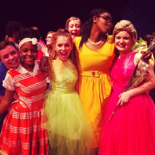 Some of the wonderful hairspray cast!!! Uhh I miss these guys already!!! 😔 #hairspray #hairspramusical #ultracluch
