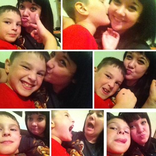He's MY baby brother, and he's all I got ❤ #babybrother #myeverything #brother #lovehim #allivegot