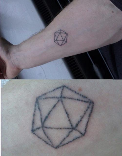 Richard's tattoo ! used the kit
