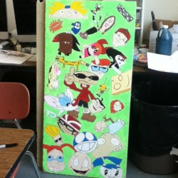 It is finished! My ceiling tile is finally done. Hopefully I didn't forget anyone!