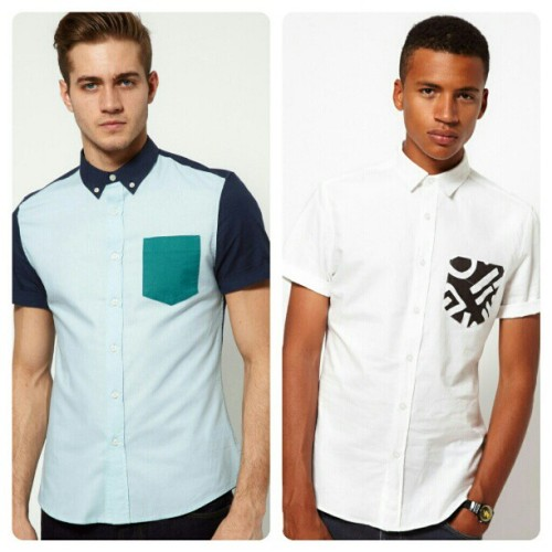 Left or right? (The shirt, not the guy) #ASOS #Shopping