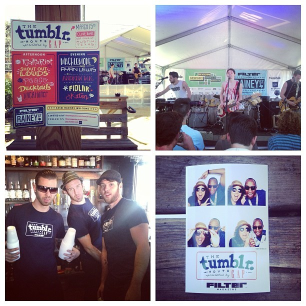 Our #TumblrxGap #SXSW showcase is here! Come rock out with us and get your photo snapped. (at Clive Bar)
