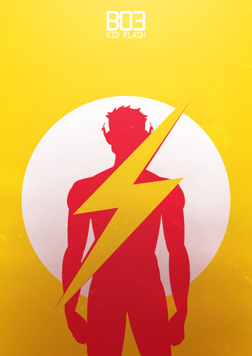 kazmet:  Young Justice Designation ↳ B03 Kid Flash