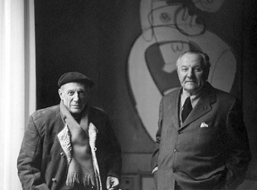 Picasso with Hans Hofmann