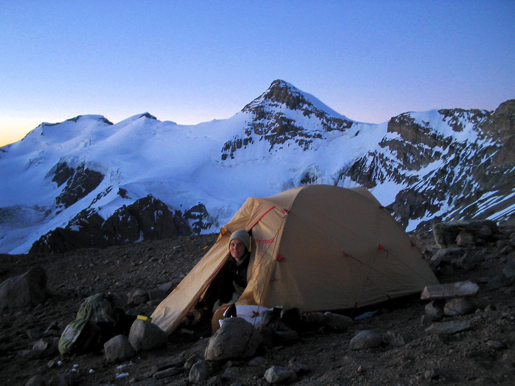 meowntain:  Quiet Night on Aconcagua (by Michael Bollino)