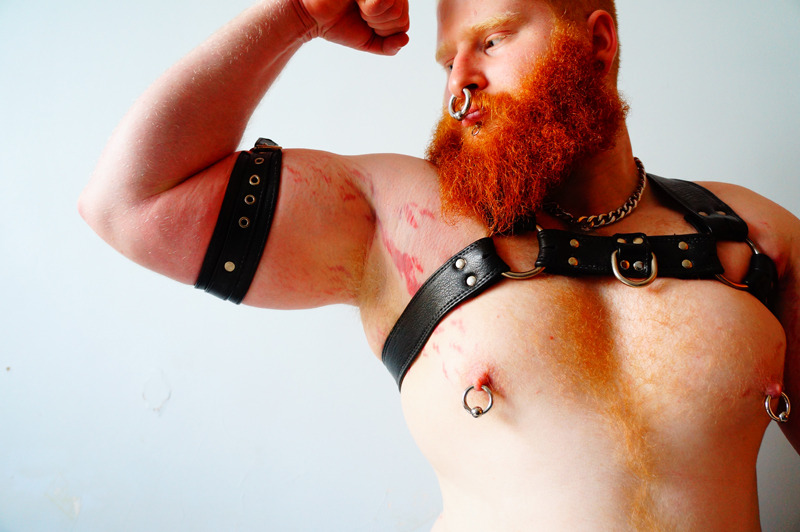 08/12/2012: Master's Leather Pup.