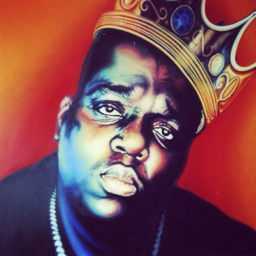 Notorious BIG greatest ever !! #ripbiggie #notoriousbig #biggie #music #hiphopking #legend #eastside #brooklyn #ny #ig #igers #iphone #igaddict #instagood #instagram #instagrammin #iphonesia