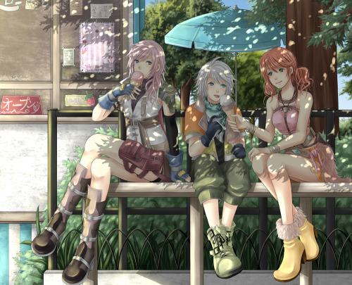 Final Fantasy XIII ~ 'Ice Cream' by slapmyface