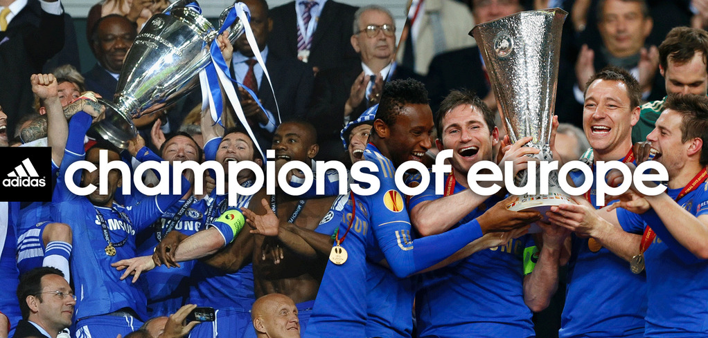 CHAMPIONS OF EUROPE :DKEEP THE BLUE FLAG FLYING HIGH