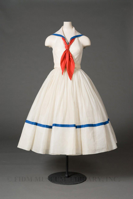 Dress Norman Norell, 1951 The FIDM Museum