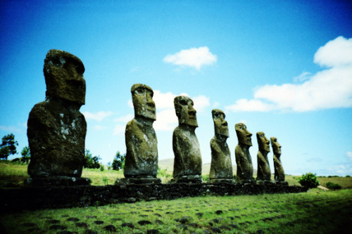 lomographicsociety:  Explore Lomography Nearby - Isla De Pascua, Valparaiso Region, Chile