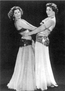 Taheya Karioka and Samia Gamal; Two of the best belly dancers of all times.