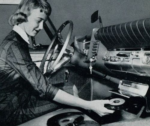 Car Record Player, c. 1950's