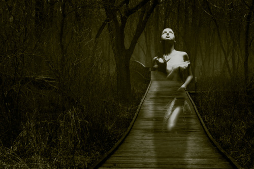 """Lost Soul Of Moonlight Marsh"" on Flickr. Female model provided by Marcus J. Ranum."