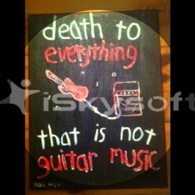 'Death To Everything That Is Not Guitar Music' by Eddie Argos and The Lo Fi Punk Rock Motherfuckers is my new jam.