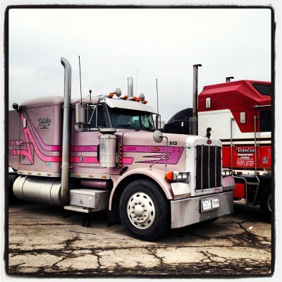 #truck #truckoftheday #purple #truckworld #roadwarriors