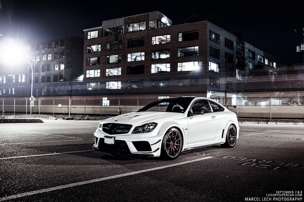automotivated:  C63 AMG Black Series (by Marcel Lech)