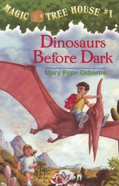 freakinsweetbookcovers:  Dinosaurs Before Dark - Mary Pope Osborne