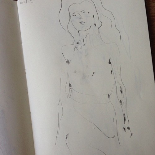 charmaineolivia:  flipping through sketchbooks