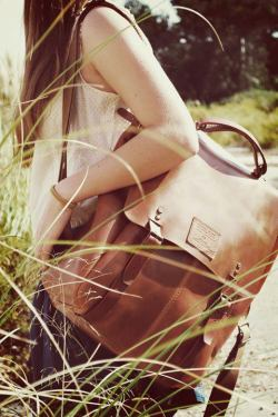 Leather Backpack by Ideal&Co