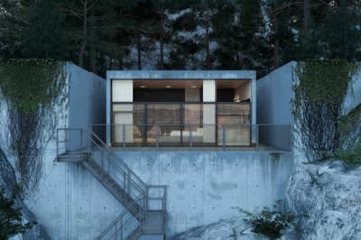 Take Me Away: Rocky Mountainside Chair House by Igor Sirotov #cabinporn