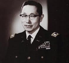 "fuckyeahhistorycrushes:  Young Oak Kim: soldier, store owner, badass. He was the only Korean-American serving in the 442nd, a segregated Japanese-American regiment serving in World War II. When superiors offered to transfer him he said, ""There is no Japanese nor Korean here. We're all Americans and we're fighting for the same cause."" He taught his platoon aggressive small unit tactics and was called Samurai Kim. He took another guy with him and they crawled all night into enemy territory to capture German soldiers and gain intel. When his group got captured, he said ""YOLO"" and escaped with a medic. He reenlisted after WWII and was the first Asian American ever to command a regular combat battalion in war. He has a school named after him. He has like, a billion medals. BOSS."