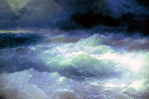 Between the Waves, 1898, Ivan Aivazovsky