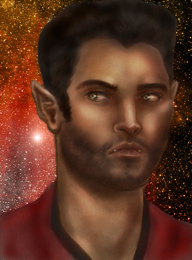 """I'm the Captain  now.""  First in my Star Wolf AU series. Stiles and Derek do it on a spaceship…or something. x"