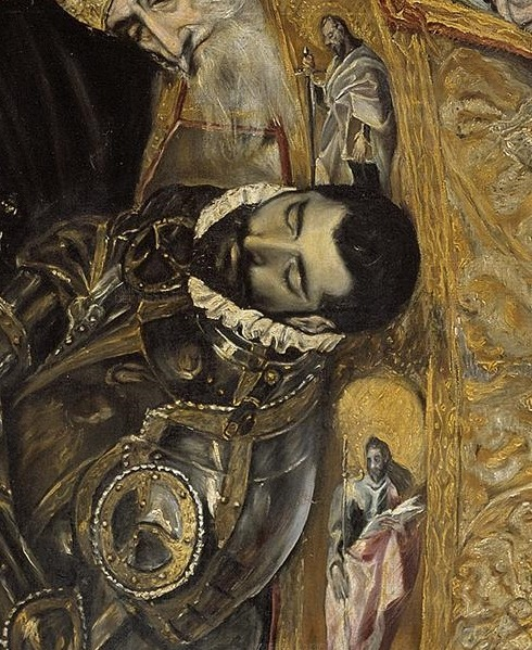 The Burial of the Count of Orgaz (Detail), El Greco (1586-1588)