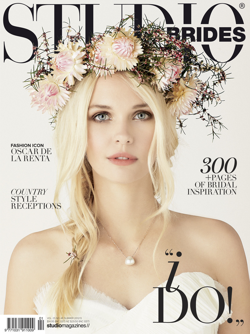 MY FIRST BRIDAL COVER!! Thank you Jacqui & Studio Brides! x