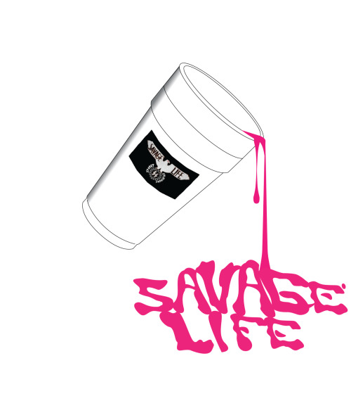 "Savage Life ""SS"" shirts coming out this week lmk if ya want $$$$"