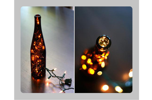 (via More Design Please - MoreDesignPlease - DIY Bottle Centerpieces)