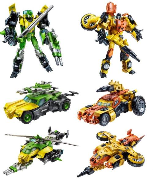 It's really interesting to see re-tools to this extent in a Transformers toy, taking an existing silhouette and altering it to such a radical degree.