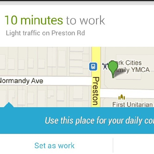 "My phone thinks my gym is  ""work"". #running #runner #run #gym #workout"