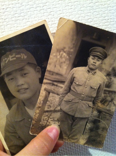 Grandpa's youth days. Now he is 91 years old.