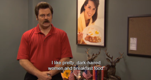 lifeofthings:  don't we all, ron swanson.