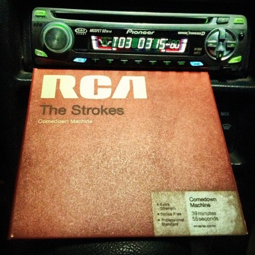 This is a great day for me #thestrokes #rca #comedownmachine #juliancasablancas