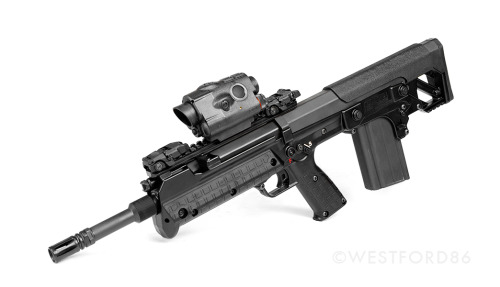 Kel-Tec RFB with an Insight ISM.