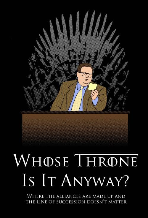 fucking-game-of-thrones:  [No spoilers] I thought r/gameofthrones might get a kick out of this parody poster I just finished i love gameofthrones