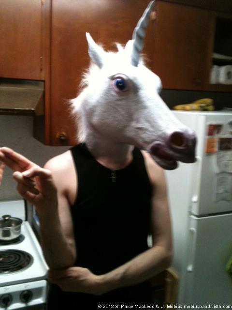 in the kitchen of the fae. she turned me into a unicorn, but, I got better.  this is the last thing in my queue here on tumblr, been meaning to add stuff, but I have a lot going on in the real world, of course this is part of that, trying to promote my art, but I am going to take a brief tumblr break. will try to queue more stuff up next week probably, meantime, visit my website or deviantart account. that one has some nsfw works in it. http://mobiusbandwidth.com/ http://j-mobius.deviantart.com/gallery/