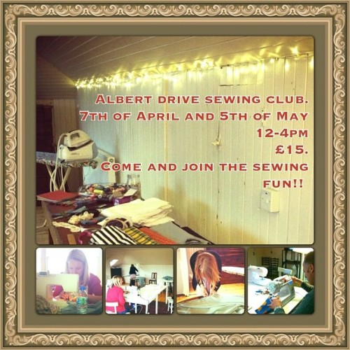 ADS sewing club rocks! #sewing #club #create #fashion #sew #glasgow #southside