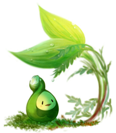 alternativepokemonart:  Artist Budew by request.