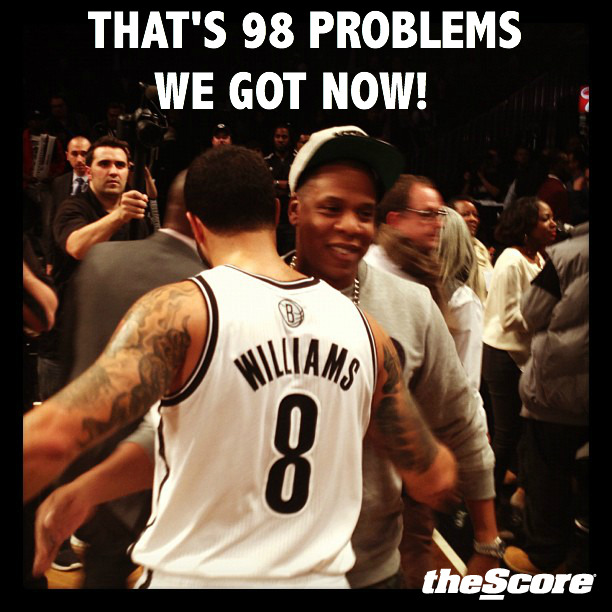 Pic: Jay-Z, Deron Williams Only Have 98 Problems Now.