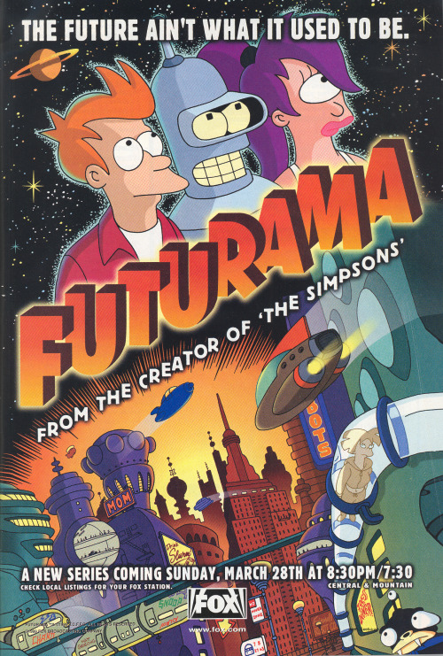 120inna55:  Futurama ad from Wizard # 93.