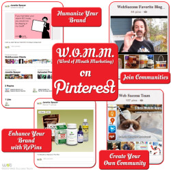 As you probably know by now Pinterest is a powerful visual marketing tool. Many marketers are taking advantage of the Pinterest Boards to showcase their products, specials and promotions.