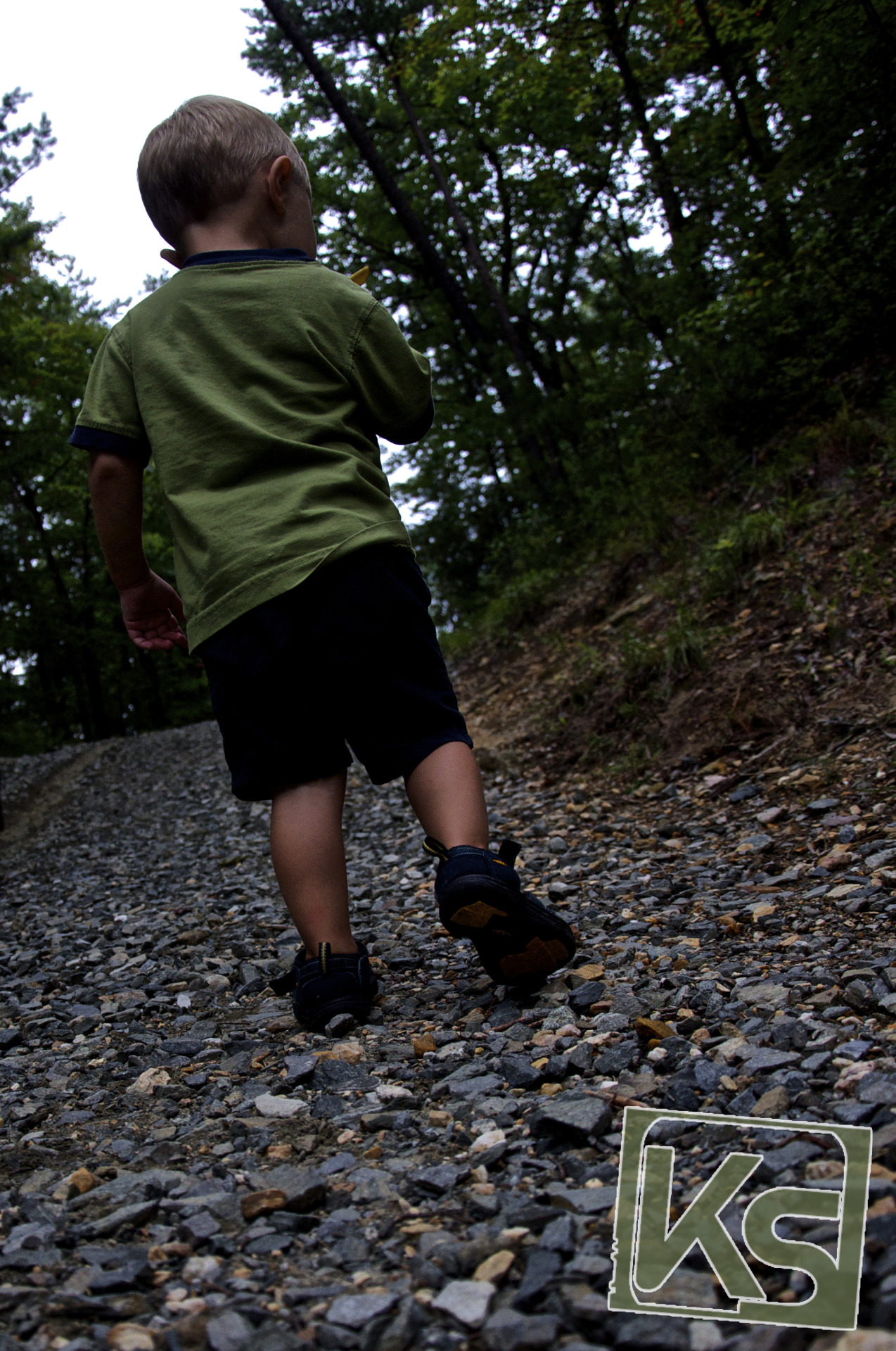 Liam Hiking - Hanging Rock National Park, NC