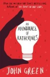 [58/1000] An Abundance of Katherines - John Green When it comes to relationships, Colin Singleton's type is girls named Katherine. And when it comes to girls named Katherine, Colin is always getting dumped. Nineteen times, to be exact. On a road trip miles from home, this anagram-happy, washed-up child prodigy has ten thousand dollars in his pocket, a bloodthirsty feral hog on his trail, and an overweight Judge Judy - loving best friend riding shotgun - but no Katherines. Colin is on a mission to prove The Theorem of Underlying Katherine Predictability, which he hopes will predict the future of any relationship, avenge Dumpees everywhere, and finally win him the girl. I didn't really like this book. It was ok, but it isn't my type of book. I found the fact that someone can date 19 people before graduating high school (including 'dating' in childhood) unrealistic (let alone all of them being called Katherine) and I couldn't relate to Colin one bit. I felt that not much happened in the book until the end, and then it was over. I tend to enjoy John Green books but I didn't really like this one. I won't read it again.