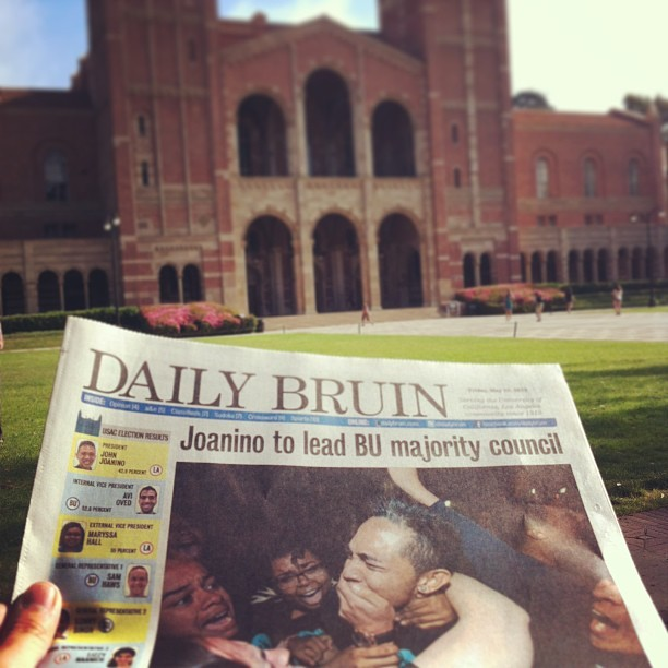 #dailybruin #ucla #elections