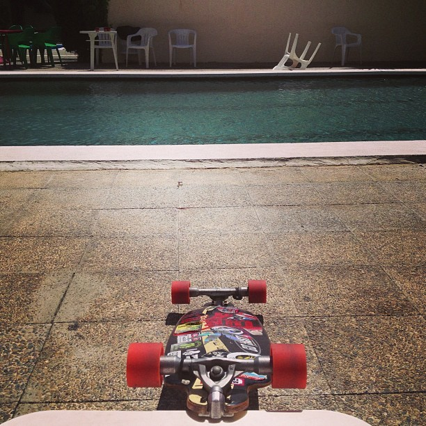 Pool Sun & Longboards !!! (at Koppers Hotel Pineda de Mar)